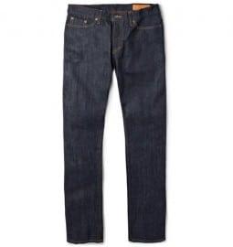 Jean Shop Slim-fit Rinsed Selvedge Jeans