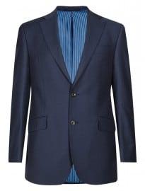 Luxury Sartorial New Pure New Wool 2 Button Herringbone Suit