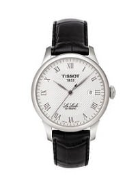 Tissot Le Locle Mens Leather Strap Automatic Watch