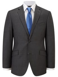 Austin Reed Contemporary Fit Grey Stripe Jacket