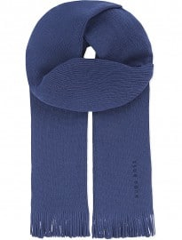 Hugo Boss Plain Wool Scarf