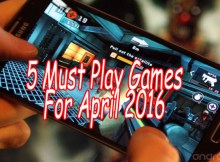 Android games for April 2016