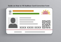 How to Fill Aadhaar Card Correction Form