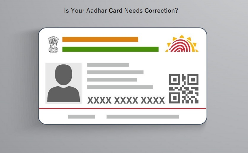 is your aadhar card needs correction now public can