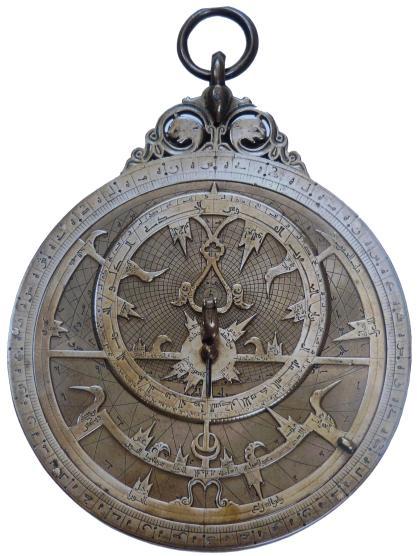 astrolabio piano di al-Khujandī