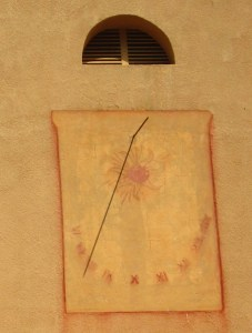 Orologio solare sulla Ile de Porquerolles