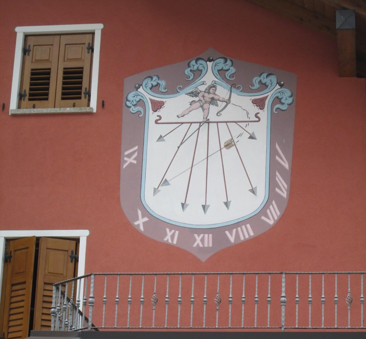 Orologio solare - Andalo, località Laghett (TN)