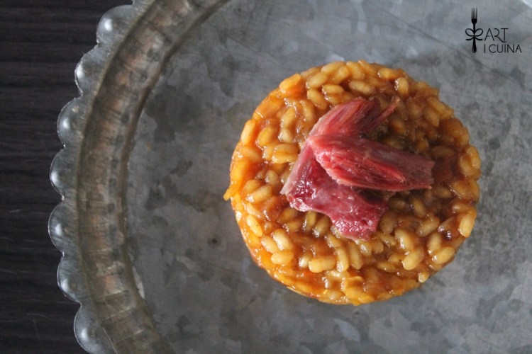 arroz a la naranja con pato