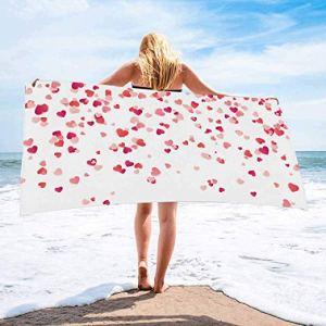 toallas de corazones