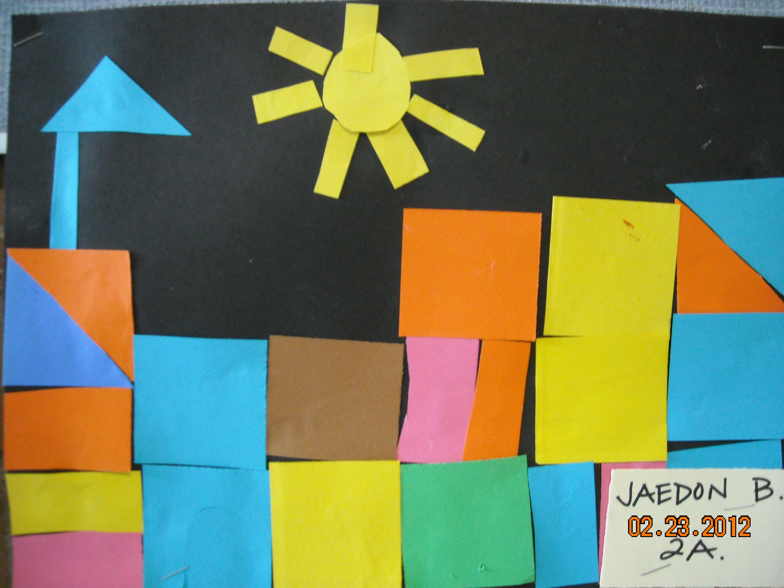 Paul Klees Castle And Sun Shape Picture Mrs Auvermann