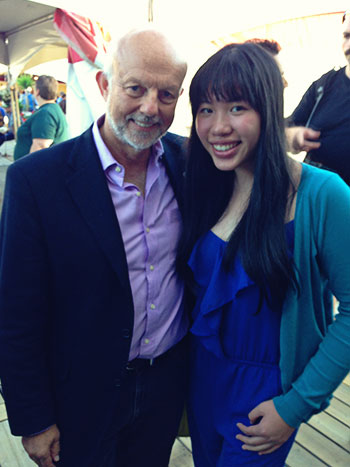 Grace Miles and Christopher Gaze at Bard on the Beach