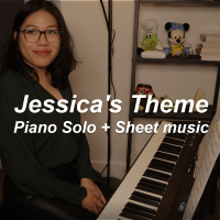 Jessica's Theme Intermediate Piano Solo feat. Grace Lam