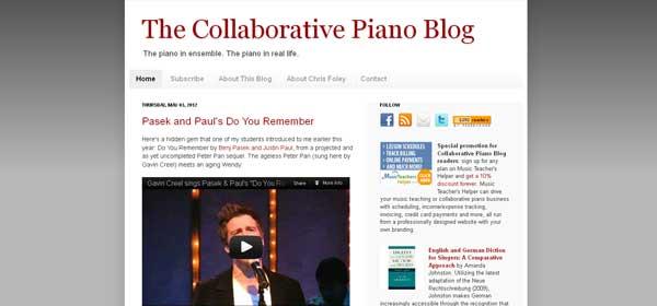 Collaborative Piano Blog
