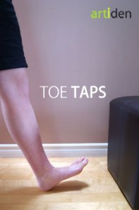 Toe Taps Exercise