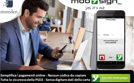 Mobysign sicuezza online Storeden