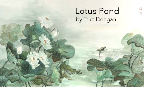 Lotus Pond • by Truc Deegan