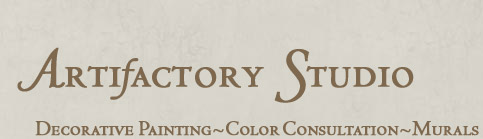 Artifactory  Studio, Decorative Painting, Faux Finishing and Murals