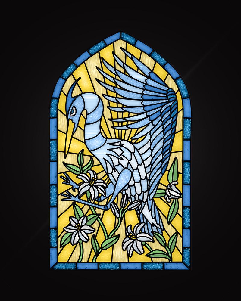 Texture Blue Heron-N-Miner_1000px