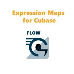 FLOW expression maps for cubase