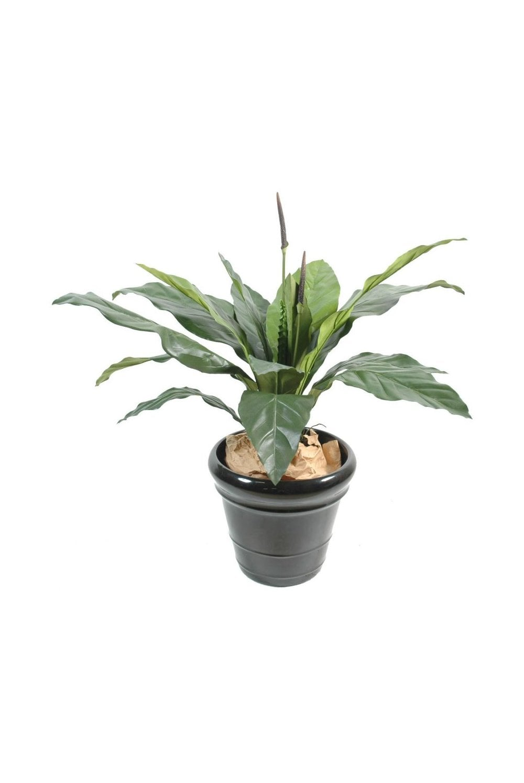 Artificial Anthurium Plant 80cm Artificial Indoor Plant Potted