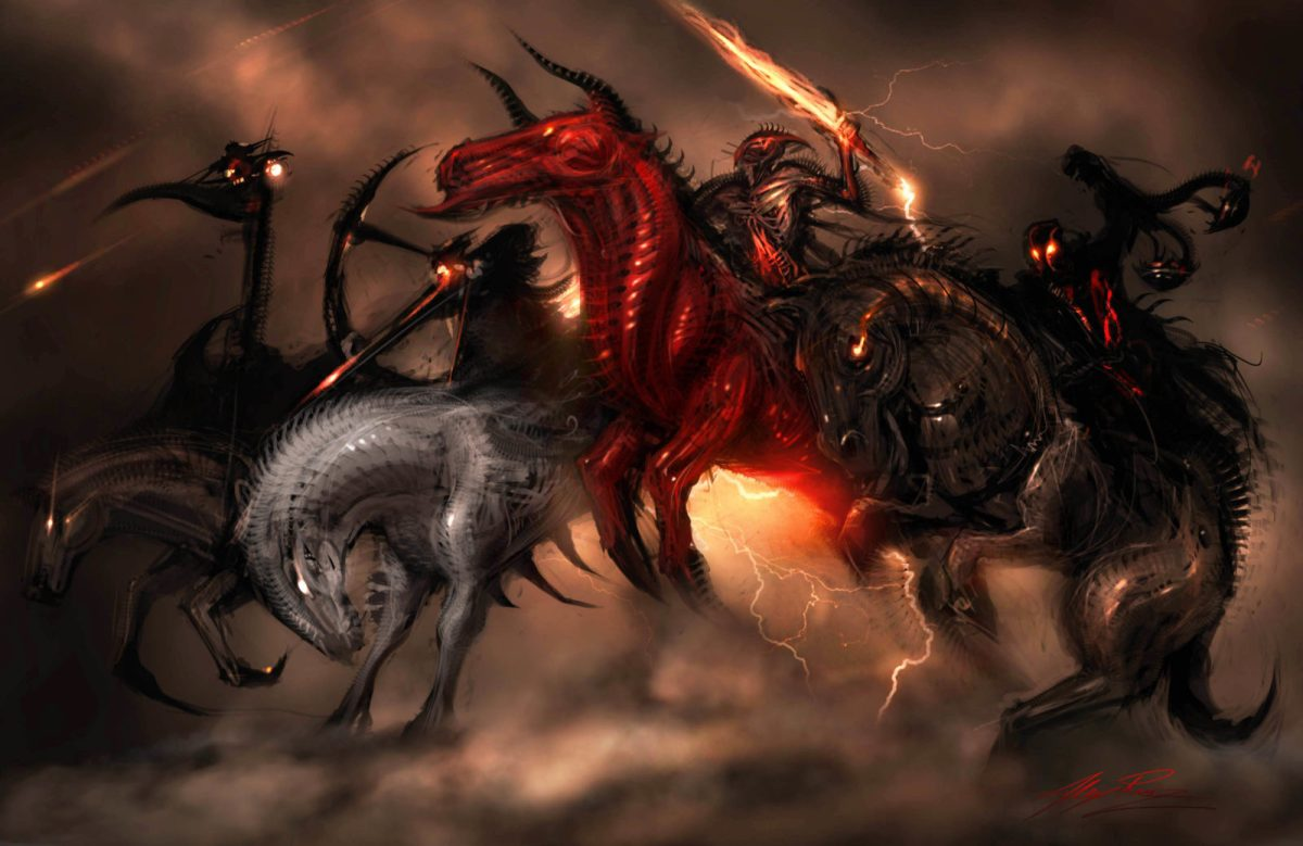 """""""Four Horsemen"""" by Alex Ruiz"""