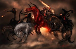 """Four Horsemen"" by Alex Ruiz"