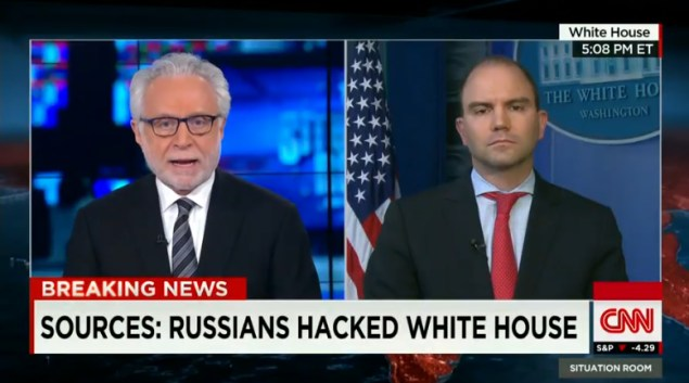 CNN: Russians Hacked White House