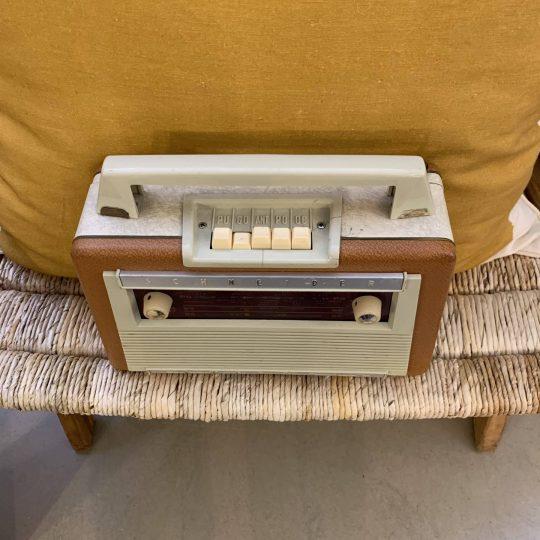 Radio Vintage Finition Pique-Nique B (A.bsolument)