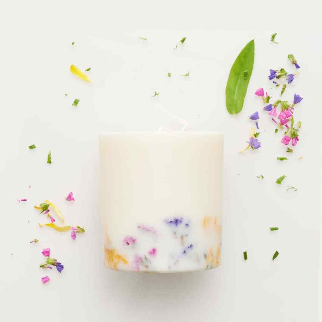 Bougie Soy Wax Wild Flowers