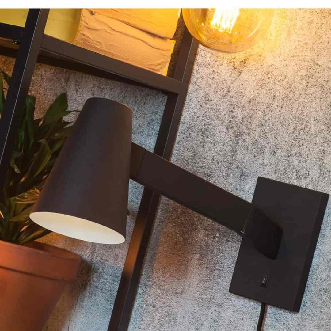 Wall Lamp Biarritz Noire