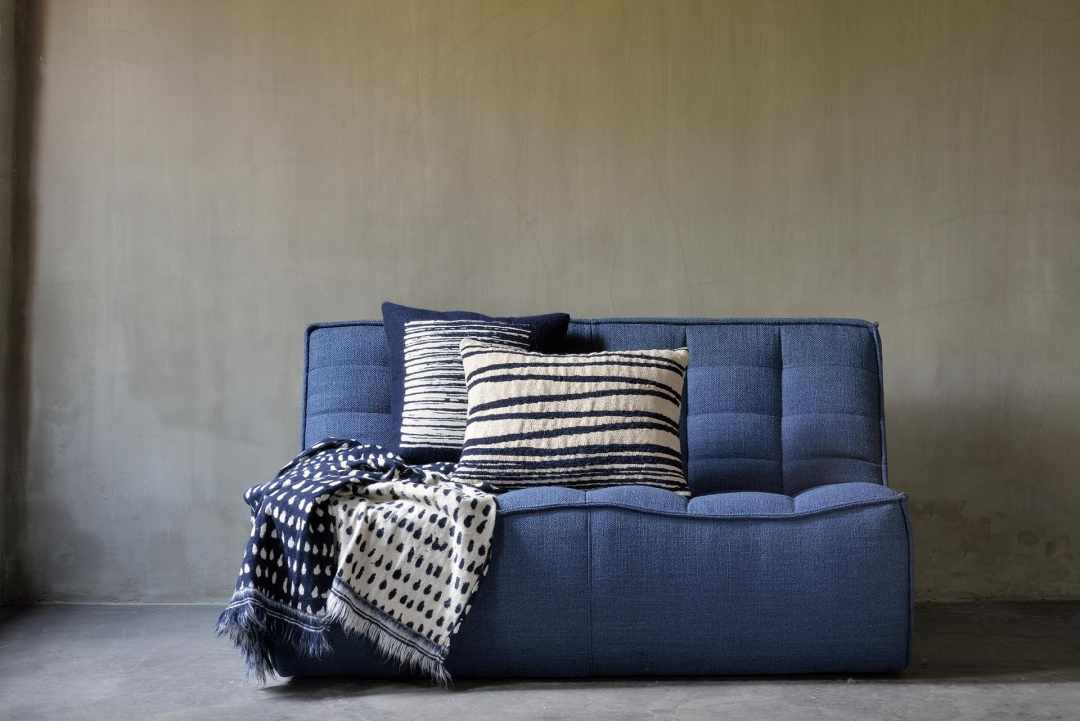 Coussin White Stripes - lombaire