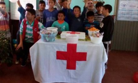 La Cruz Roja festejó el Día del niño en el Comedor Dionisio Diaz