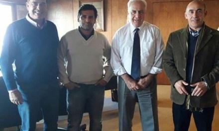 La comisión de obras de la junta departamental se reunió con el ministro Victor Rossi
