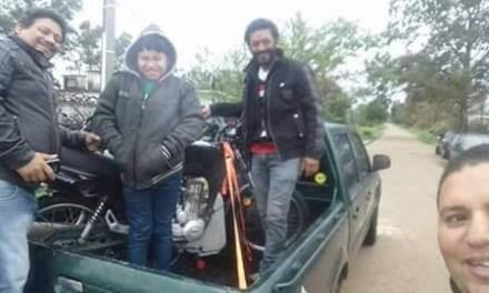 Robaron una moto en Artigas y a las pocas horas apareció en Salinas