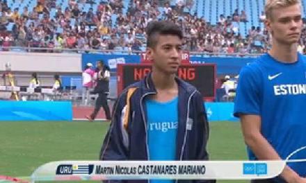 El artiguense Martín Castañares logró una beca militar,la cual ayudará su carrera deportiva