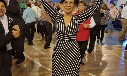 Virginia Bassu participó del evento Miss Adulto Mayor en Durazno