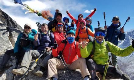 El artiguense Jorge Xavier llegó al Everest
