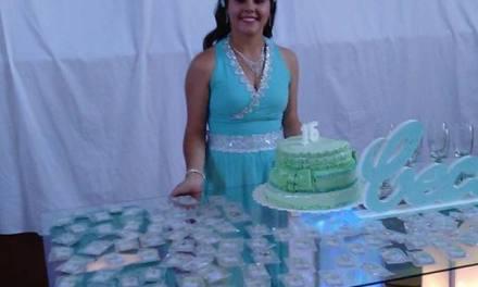 Cecilia festejó junto a familiares y amigos su cumpleaños durante el día