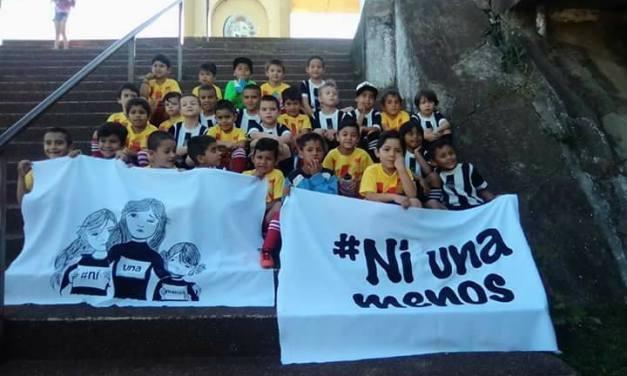 Fútbol por #Ni una menos