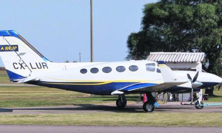 El edil Lidio Paniagua plantea que el avión de Alur sea otorgado en comodato al departamento de Artigas como avión sanitario