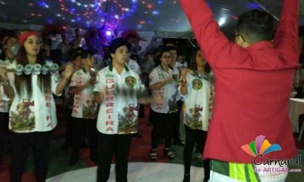 La Escuela de Samba Rampla presentó el samba enredo 2018