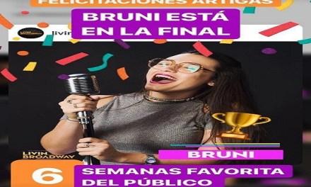 La artiguense Bruna de Oliveira Madeira es finalista de Living Broadway