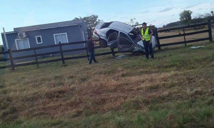 Dos accidentes,uno de ellos»espectacular»fue el saldo de la primera jornada de 2018 en Artigas