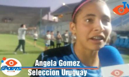 LA ARTIGUENSE ANGELA GÓMEZ ES LA GOLEADORA DE LA SELECCIÓN URUGUAYA