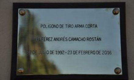 POLÍGONO DE TIRO LLEVA EL NOMBRE DEL ALFÉREZ ARTIGUENSE ANDRÉS CAMACHO ROSTAN