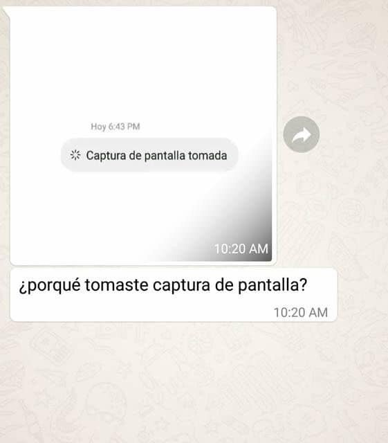 WHATSAPP BUSCA PROHIBIR LAS CAPTURAS DE PANTALLA