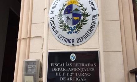 EL SOSPECHOSO DE ASESINAR A CRISTIAN CHALART A PUÑALADAS EN BARRIO ZORRILLA FUÉ INTERROGADO POR EL FISCAL IGLESIAS.