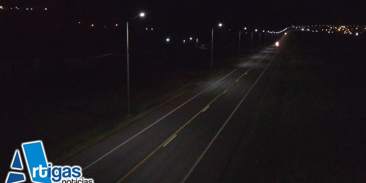 MUJER POLICÍA FUE ATACADA MIENTRAS REALIZABA EJERCICIOS EN EL BY PASS DE RUTA 30