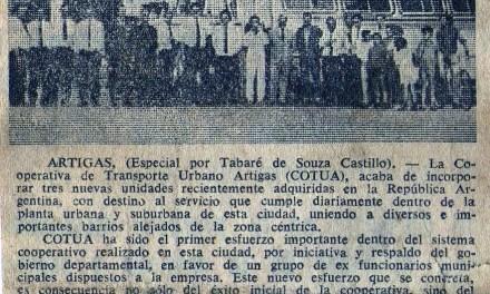COTUA CUMPLE 50 AÑOS EN ARTIGAS