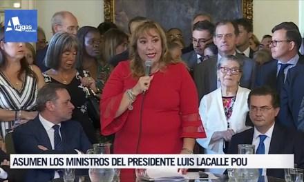 LA ARTIGUENSE IRENE MOREIRA ASUMIÓ LA CARTERA DE VIVIENDA.
